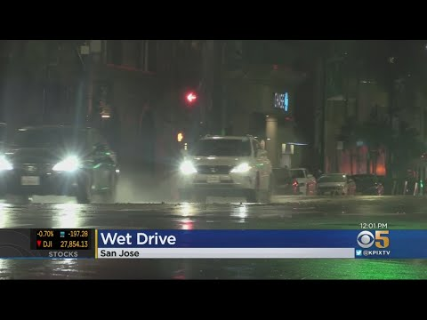 Wet Weather Continues In Bay Area`