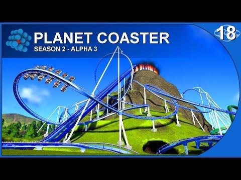 Planet Coaster - Alpha 3-  S02E18 - Volcano