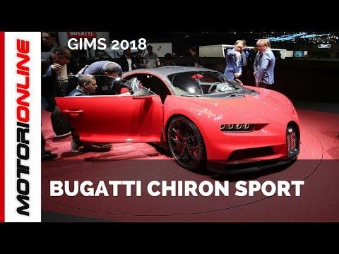 Bugatti Chiron Sport I LIVE @ Salone di Ginevra 2018