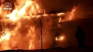 Athensmagazine.gr: Κάηκε το σπίτι πολύτεκνης οικογένειας στην Ανάβυσσο!