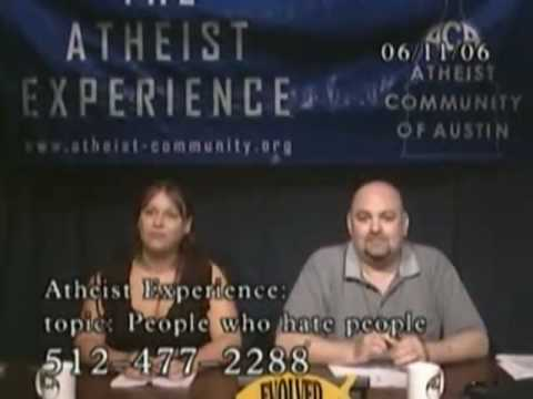 Atheists Are Inferior to Christians - Atheist Experience 452