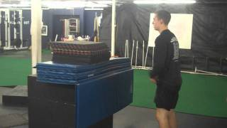 54 in Box Jump - New Gym Record!