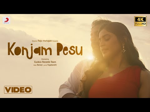 Konjam Pesu Music Video | Raju Murugan | Yugabharathi | Pradeep Kumar | Sanchita Shetty | Narean