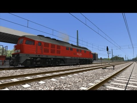 Train Simulator 2014 |#04| BR232 Diesel - Heavy freight to Berlin Berlin - Wittenberg