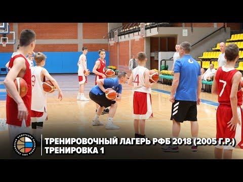 Тренировочный лагерь РФБ 2018 (2005 г.р.) / Тренировка 1