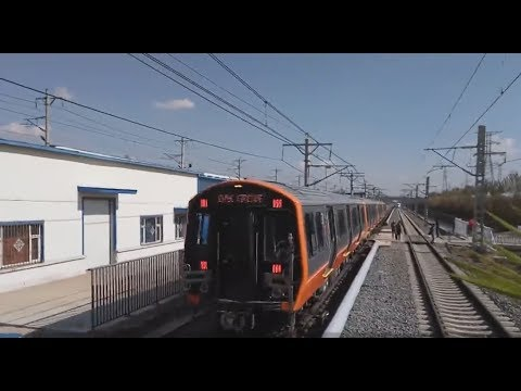 China-made subway cars for Boston roll off production line
