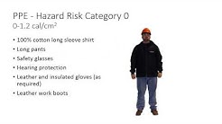 Electrical Hazards and PPE
