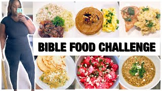72 HOURS BIBLE FOOD CHALLENGE | I LOST 4 POUNDS IN 72 HOURS | WEIGHTLOSS JOURNEY