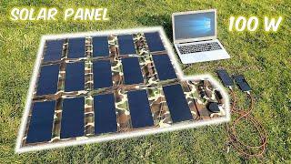 Купил мощную солнечную зарядку на 100 ватт и заряжаю все подряд от солнца Allpowers 100W alex boyko