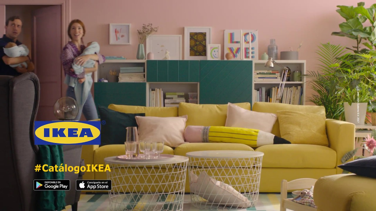 d selo cantando anuncio cat logo ikea 2018 youtube. Black Bedroom Furniture Sets. Home Design Ideas