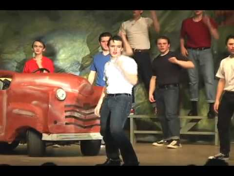 Grease the Musical(Greased Lightning)
