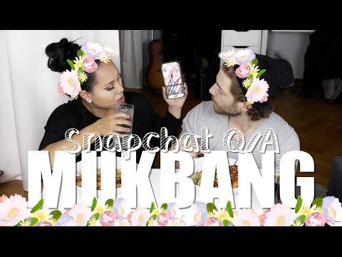MUKBANG och SNAPCHAT Q/A - LB ♥