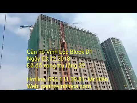 Căn hộ Vĩnh Lộc Block D1 ngày 03.12.2018