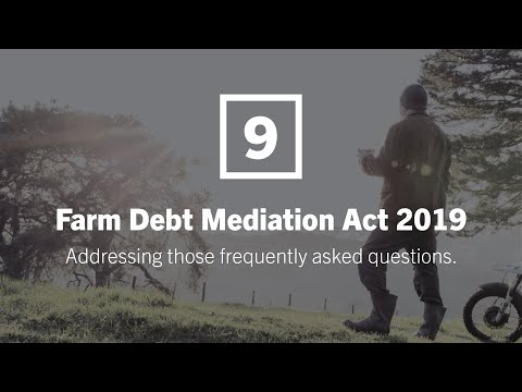Farm Debt Mediation Act 2019