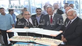 بالفيديو  وزير النقل يتفقد ميناء الغردقة البحري