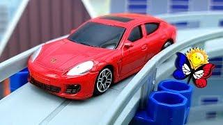 Des dessins animés sur les voitures  Dessins animés éducatifs sur les véhicules et les jouets