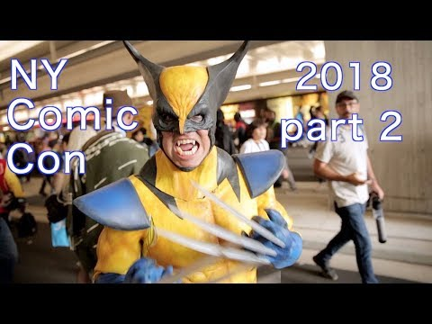 NY Comic Con 2018 cosplay music video part 2