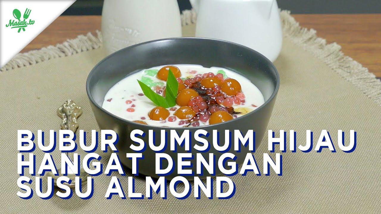 Resep Bubur Sumsum Hijau Hangat Dengan Susu Almond