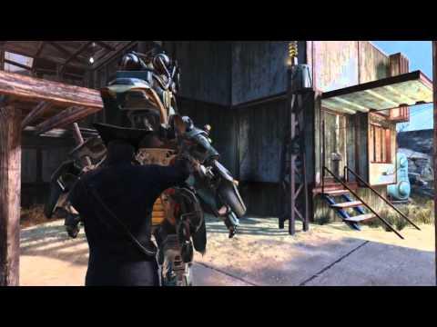 Wasteland Workshop DLC. Fallout 4 gameplay! |