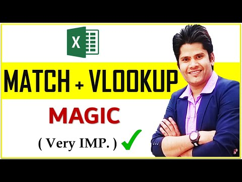 How To Use Vlookup With Match Function In Excel 2d