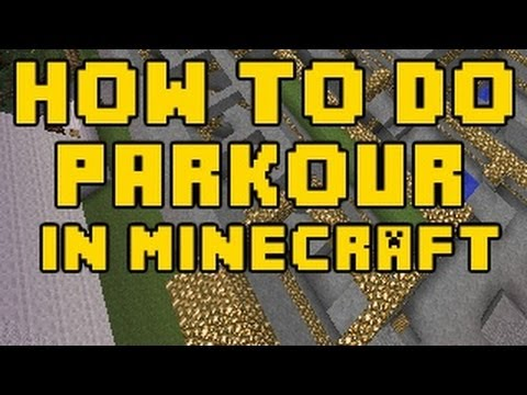 How to do Parkour in Minecraft TipsTricks  YouTube