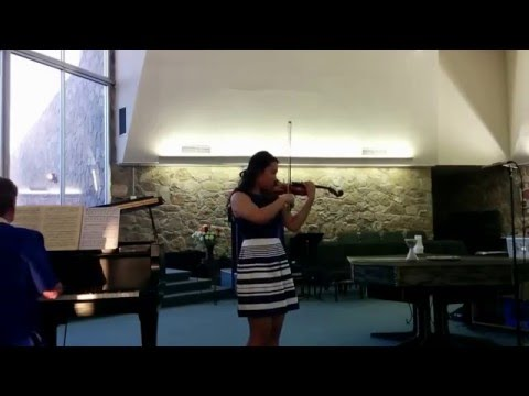 Jeeyoon Kim performing at the 2015 EPSMF Competition for Young Musicians