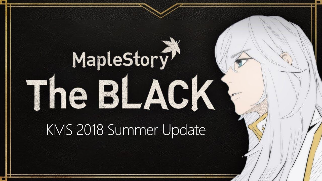 MapleStory Korea Summer Update -