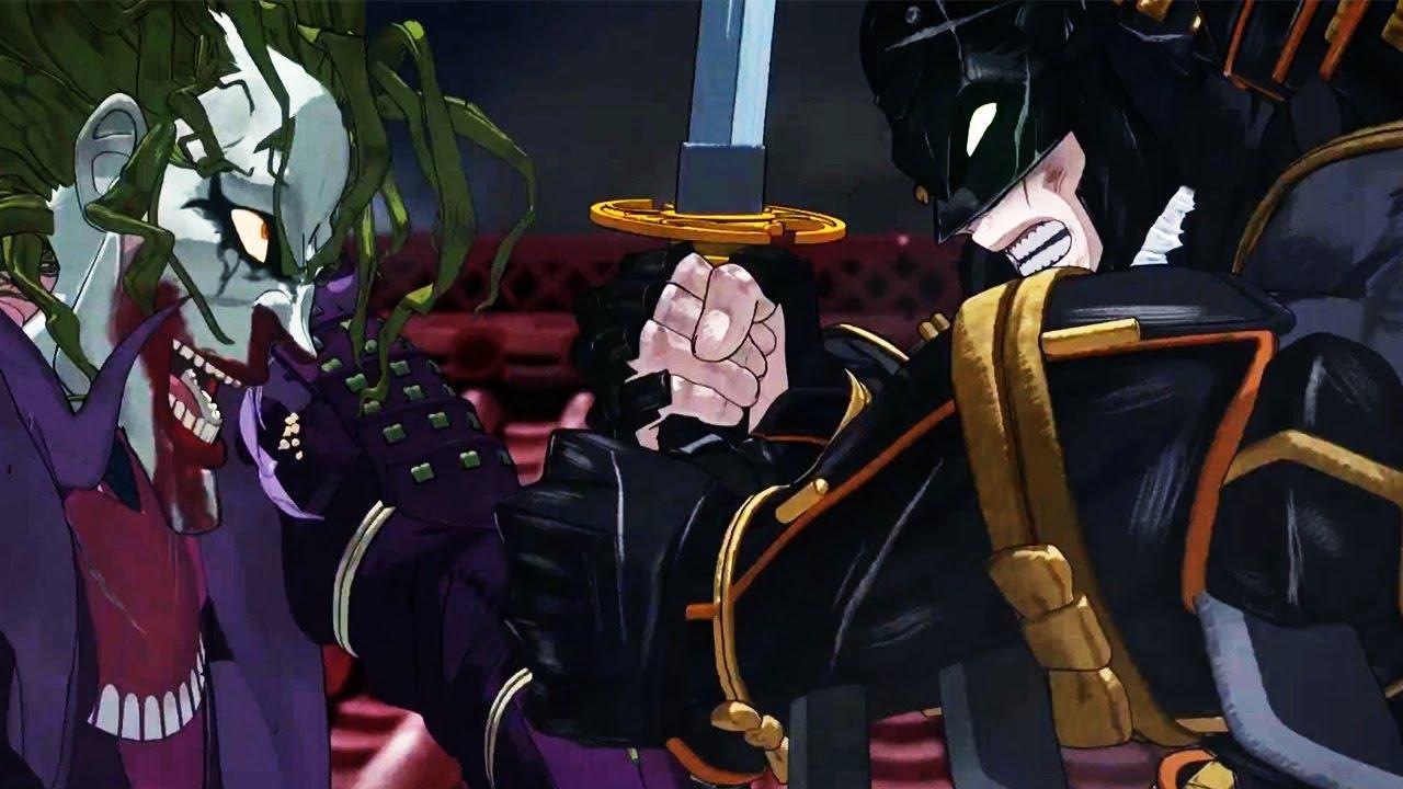 Batman Ninja Batman Meets The Joker And Harley Quinn Youtube