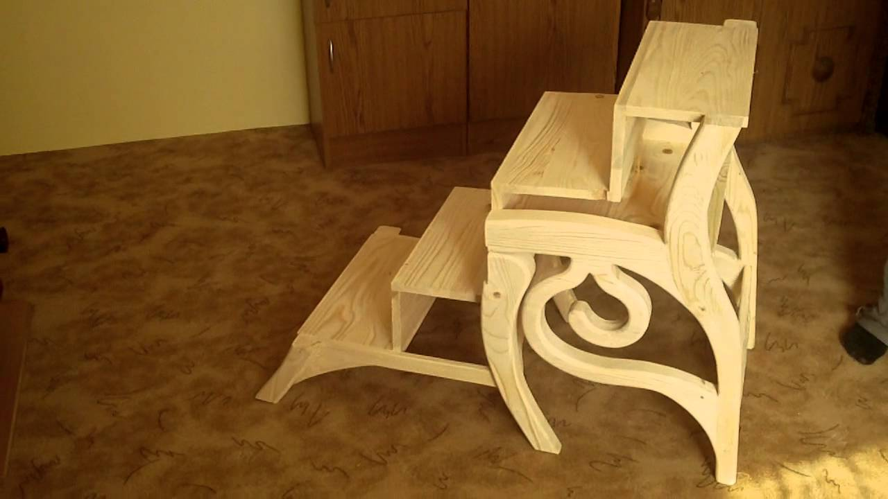 Library Steps Chair