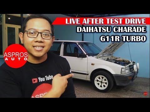 AFTER TEST DRIVE : DAIHATSU CHARADE G11R TURBO 1986