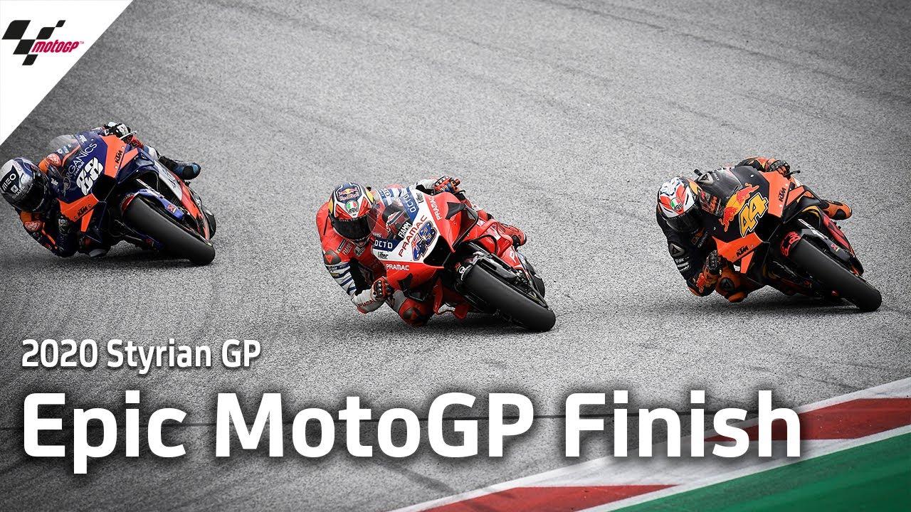 Epic MotoGP Last Lap | 2020 StyrianGP
