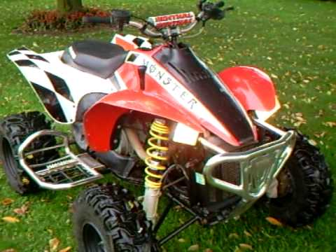 POLARIS SCRAMBLER 2x4.MONSTERSCRAMB BY SILV1. - YouTube