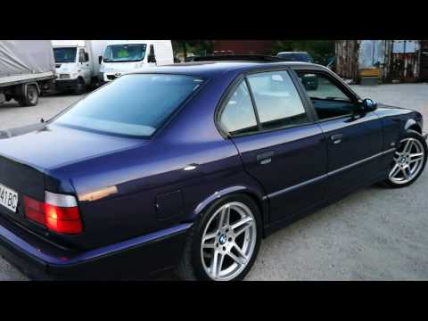 One of only 10 BMW E34 540i/6 in Techno Violet