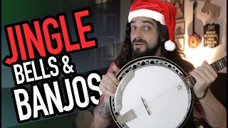 Jingle Bells no Banjo 5 Cordas (Banjo Americano, Country)