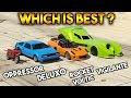 GTA 5 ONLINE : DELUXO VS VIGILANTE VS OPPRESSOR VS ROCKET VOLTIC  (WHICH IS BEST?)