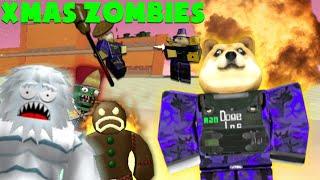 R2da Christmas Zombies - roblox r2da stalker