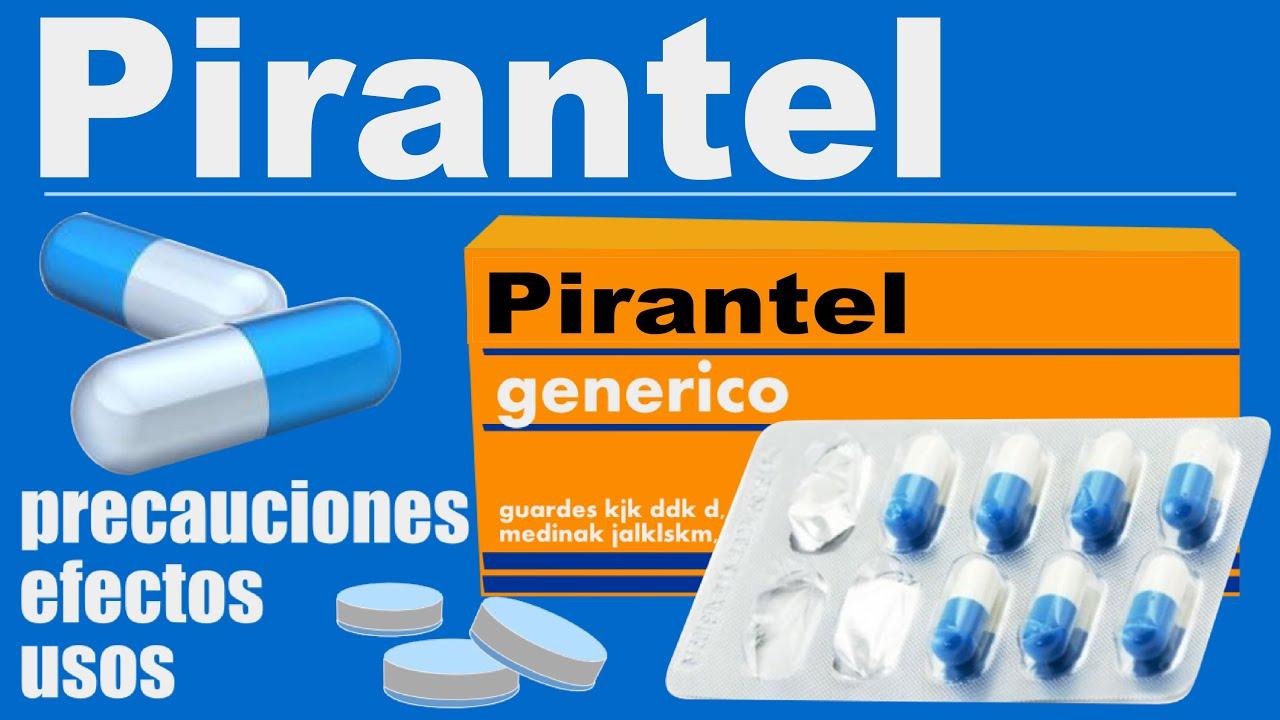 tabletták férgek pirantel hogyan működnek
