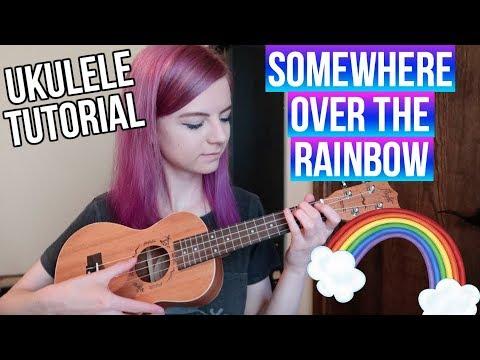 Somewhere Over The Rainbow - IZ | EASY UKULELE TUTORIAL