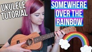 Baixar Somewhere Over the Rainbow - IZ | EASY UKULELE TUTORIAL