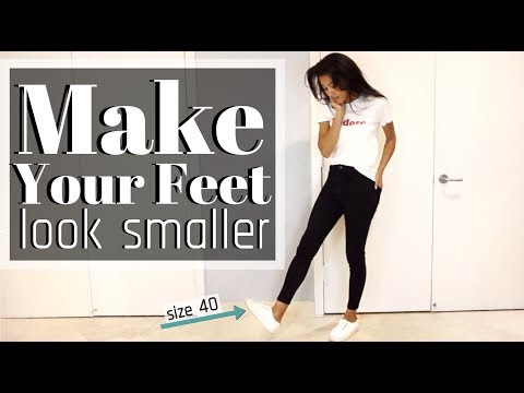 HOW TO MAKE YOUR FEET LOOK SMALLER | KWSHOPS
