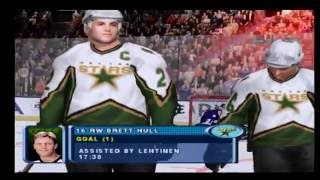 NHL 2001 PS2 Gameplay