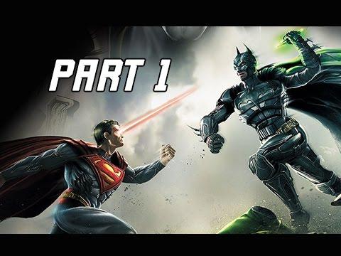 Injustice Gods Among Us Walkthrough Part 1 - Batman & Green Lantern (Let's Play Commentary)