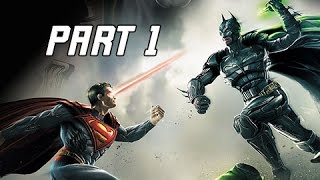 Injustice Gods Among Us Walkthrough Part 1 - Batman & Green Lantern (Let's Play Commentary)
