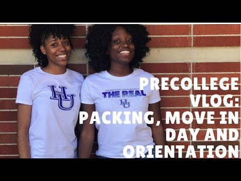 Hampton University Precollege | Vlog #1