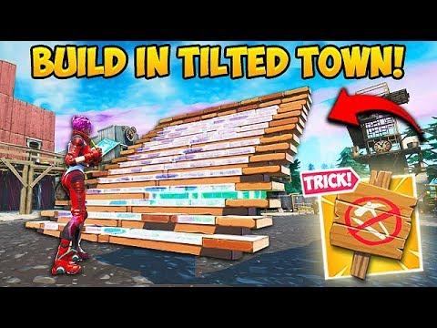 *BROKEN* BUILD INSIDE TILTED TOWN!! – Fortnite Funny Fails and WTF Moments! #642 thumbnail