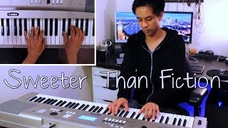 Taylor Swift Sweeter Than Fiction  Piano Cover