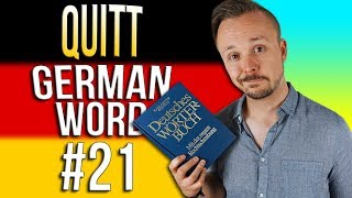 Learn German A.1 🇩🇪 Word Of The Day: quitt | Episode 21 | Get Germanized