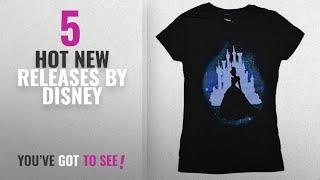 Hot New Disney Women Clothing [2018]: Disney Cinderella Star Silhouette Juniors T-Shirt (XXL, Black)
