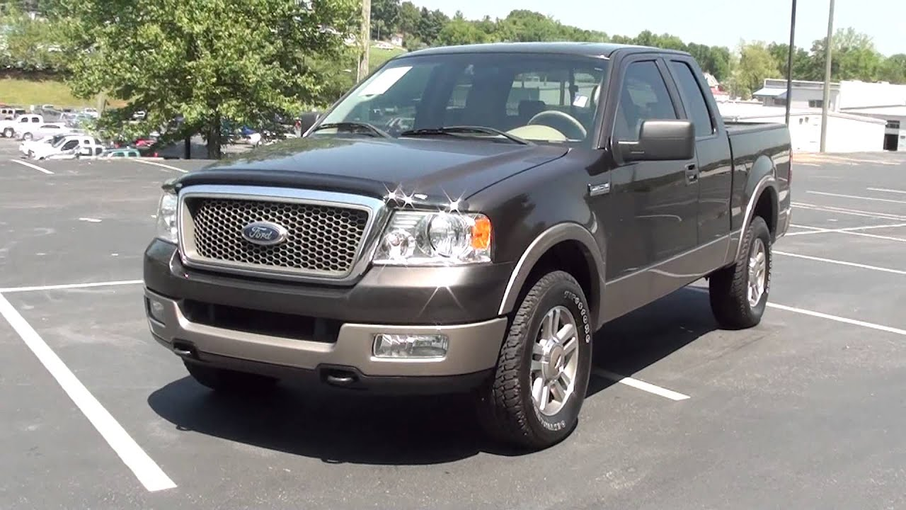For sale 2005 ford f 150 lariat 4x4 stk 30025b www lcford com