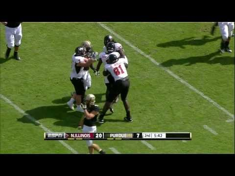 2013 Northern Illinois at Purdue Football Highlights